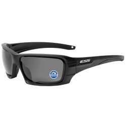 ESS - EE9018-04 - Rollbar Black Frame/Polarized Mirrored Gray Lenses Scratch-Resistant Polarized Safety Sunglasses, G