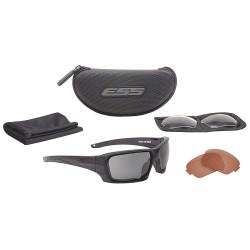 ESS - EE9018-05 - Rollbar Scratch-Resistant Ballistic Safety Glasses, Assorted Lens Color