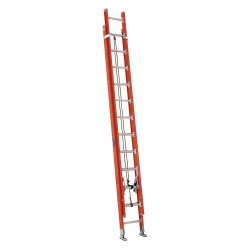 Louisville Ladder - FE7224 - Extension Ladder, Fiberglass, IA ANSI Type, 12 ft. Ladder Height