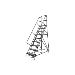 Louisville Ladder - GSW2409 - 9-Step Rolling Ladder, 68 Overall Height, 450 lb. Load Capacity