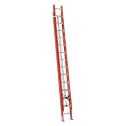 Louisville Ladder - FE7228 - 28' Fiberglass Extensionladder W/ D Rung 2 Sect