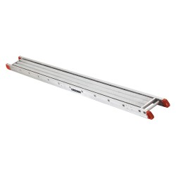 "Louisville Ladder - P21212 - Two-Person Scaffolding Stage, 12 ft. Overall Length, 12"" Overall Width, 500 lb. Load Capacity"