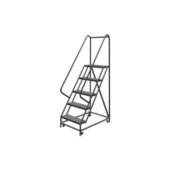 "Louisville Ladder - GSW2405 - 5-Step Rolling Ladder, 42"" Overall Height, 450 lb. Load Capacity"