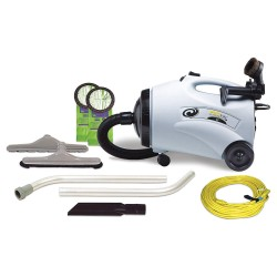 ProTeam - 103220 - 2-1/2 gal. ProVac Series Canister Vacuum, 150 cfm, 9.9 Amps, Standard Filter Type