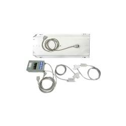 PortaFab - MW1224G - Modular Wiring Kit, 12 ft. x 24 ft., Gray