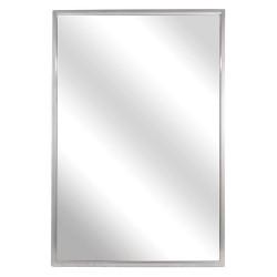 Bradley - 740-018360 - Framed 36H x 18W Fixed Tilted Mirror