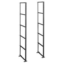 Salsbury Industries - 2200 - Aluminum Mailboxes Rack Ladder; Features: 5 Levels