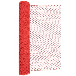 Other - 33L955 - Barrier Fence, 1-3/4 x 1-3/4 Mesh Size, 4 ft. Height, 50 ft. Length