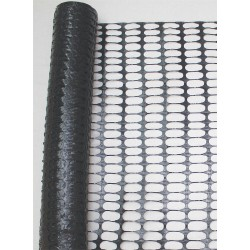 Other - 33L957 - Snow Fence, 1-1/4 x 3-1/8 Mesh Size, 4 ft. Height, 50 ft. Length