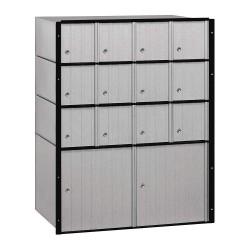 Salsbury Industries - 2214 - Mailbox, Standard System, 14 Door, Aluminum