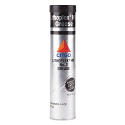 Citgo - 655357001080 - Gray Lithium Complex Multipurpose Grease, 14 oz., NLGI Grade: 2