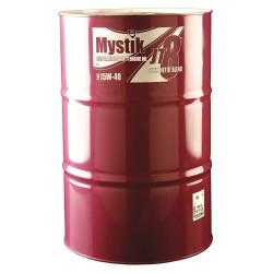 Mystik - 663003002001 - Motor Oil, Amber, Drum, 15W-40, 55 gal.