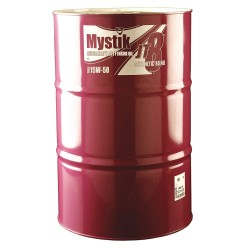 Mystik - 663004002001 - Motor Oil, Synthetic Blend, 15W-50, 55 gal.