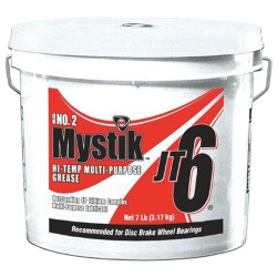 Mystik - 665005002117 - Red Lithium Complex High Temperature Grease, 4.7 lb., NLGI Grade: 2
