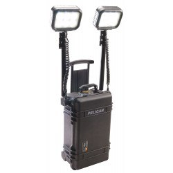 Pelican - 9460B - 5.4W LED Foldable Remote Area Lighting System, Black, 6000/1400 Lumens