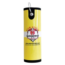 Stem Shield - 7218 - Valve Cover, PVC Core with Elastafoam Wrap, Yellow