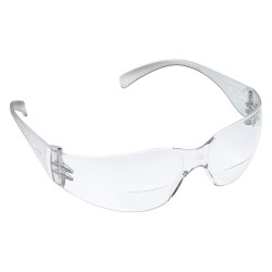3M - 11515-00000-20 - Clear Anti-Fog Bifocal Safety Reading Glasses, +2.5 Diopter