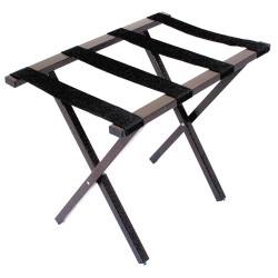Hospitality 1 - LRPCBR - Steel Luggage Rack, 20-1/2 H X 25-1/4 W X 16-1/2 D, Cap.: 300 lb., Powder Coated
