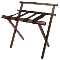 Hospitality 1 - LRBRPCBR - Steel Luggage Rack, 26 H X 25-1/4 W X 15-1/2 D, Cap.: 300 lb., Powder Coated
