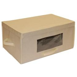 Hospitality 1 - BLKTBOX - 15 Nonwoven Fabric Blanket Box, Ivory