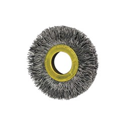 Osborn / Jason - 11013 - Arbor Hole Wire Wheel Brush, Crimped Wire, 1-3/8 Brush Dia.