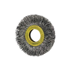 Osborn / Jason - 11028 - Arbor Hole Wire Wheel Brush, Crimped Wire, 2 Brush Dia.