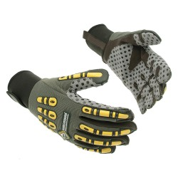 Tilsatec - TTP455 - Cut Resistant Gloves, ANSI/ISEA Cut Level 5 Lining, Black, Gray, Yellow, S, PR 1
