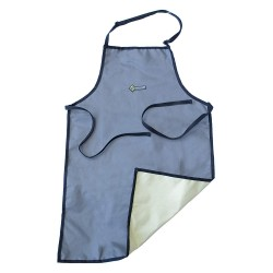 Tilsatec - TTP470 - Apron, RhinoGuard Material, Gray, Size: S