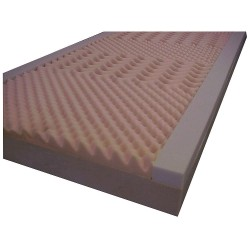 Casco Manufacturing Solutions - H10014 - 80 x 35-1/2 x 6 Foam Mattress, Navy/Gray