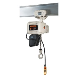 Harrington Hoists - NERP003L-FG-15 - H4 Electric Chain Hoist, 500 lb. Load Capacity, 230/460V, 15 ft. Hoist Lift, 15 fpm