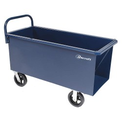 Jescraft - GGR-JCC-60MR-2R2S - 43 x 23-1/2 x 16 Steel Concrete Cart