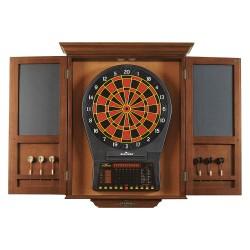 Brunswick - 51870575002 - Electronic Dartboard Cabinet, Wood
