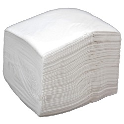 Safety Solutions - 61000 - White Airlaid Disposable Wipes, Number of Sheets 75, Package Quantity 900