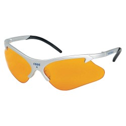 Smith & Wesson - 19835 - Code 4 Scratch-Resistant Safety Glasses, Orange Lens Color