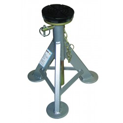 AME - 14980 - 12 x 12 Flat Top Jack Stands; Lifting Capacity (Tons): 3 Per Stand