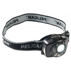 Pelican - 2720 - LED Headlamp, Plastic, 100, 000 hr. Lamp Life, Maximum Lumens Output: 80, Black