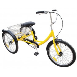 Other - 33X825 - Industrial Tricycle, 24 In, Rear Basket
