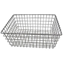 Other - 33X831 - Steel Mesh Bicycle Front Basket, 21 x 15 x 9