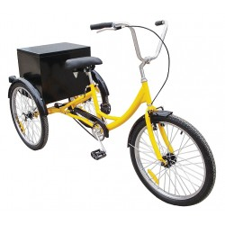 Other - 33X833 - Industrial Tricycle, 24 In, Rear Cabinet