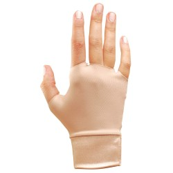 Occunomix - 450-3S - OccuNomix Small Beige Original Occumitts Nylon And Spandex Fingerless Therapeutic Support Gloves, ( Pair )