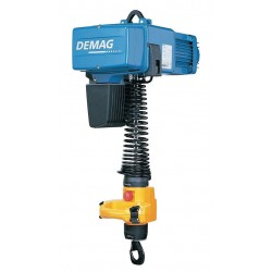 Demag - DCM PRO 5-125 1/1 H2.8 V28.8/7.2 460/60 - H4 Electric Chain Hoist, 250 lb. Load Capacity, 460V, 9 ft. Hoist Lift, 96/24 fpm
