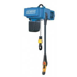 Demag - DCS PRO 2-250 1/1 H5 VS16-30 480/60 - H4 Electric Chain Hoist, 500 lb. Load Capacity, 480V, 16 ft. Hoist Lift, 0 to 52 fpm