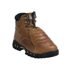 Michelin - XPX761 - 6H Men's Work Boots, Steel Toe Type, Leather Upper Material, Brown, Size 10-1/2W