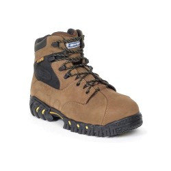 Michelin - XPX763 - 6H Men's Work Boots, Steel Toe Type, Leather Upper Material, Brown, Size 10-1/2W