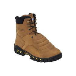Michelin - XPX781 - 8H Men's Work Boots, Steel Toe Type, Leather Upper Material, Brown, Size 10-1/2W