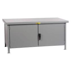 Little Giant - WWC-3048-HD - Cabinet Workbench, Steel, 30 Depth, 34 Height, 48 Width