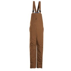 VF Corporation - BLN4BD RG L - Brown Bib Overalls, Outershell - EXCEL FR ComforTouch Flame-Resistant, 11.5 oz. Duck 88% Cotton/12