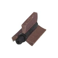 Merit Abrasives - 08834154129 - 120 Grit Aluminum Oxide Alo Resin Bond Bore Polisher, 4 Max. Inner Dia., 3-1/8 Min. Inner Dia.