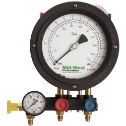 Mid-West Instrument - 847 - Backflow Preventer Test Kit, 5 Valve, Includes: Case, Fittings, Hoses, Test Procedures and Calibrati