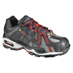 Nautilus - N1317 SZ - 4H Men's Athletic Style Work Shoes, Alloy Toe Type, Leather/Nylon Upper Material, Black, Size 9W